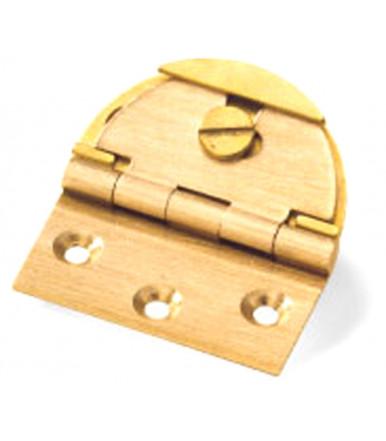 art. 4 A Patentiertes verstellbares Scharnier mit runder Gehäuse