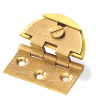 art. 4 C Patentiertes verstellbares Scharnier mit runder Gehäuse