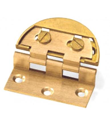art. 4 D Patentiertes verstellbares Scharnier mit runder Gehäuse