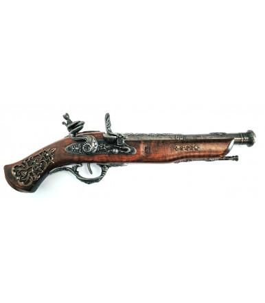 Pistola Inglese ad avancarica riproduzione del 1700