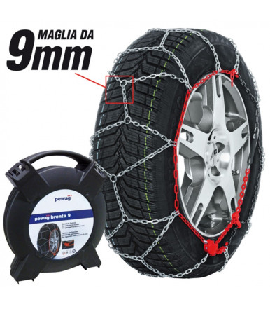 Car snow chains Pewag Brenta 9