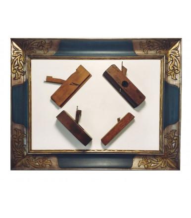 Juego de Antigua cepilladora para carpintero