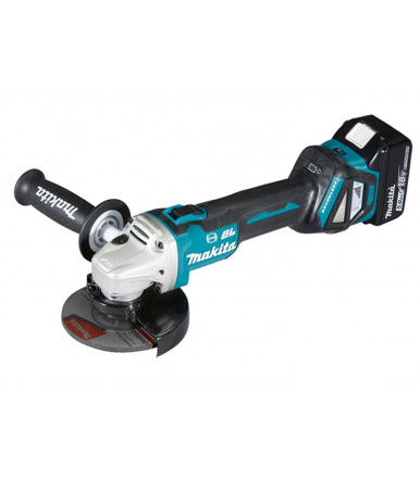Makita DGA514RTJU 18V BL MOTOR Bluetooth angular grinder 125/115 mm