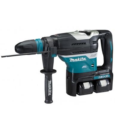 Makita DHR400PT2U 18VX2 BL MOTOR Bluetooth combi hammer 40 mm