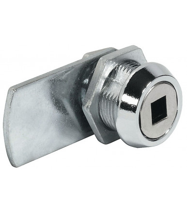 235 Cam Lock for Square Profile Key with Straight Cam and Nut Attachment