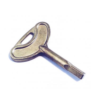 Chiave d'inserzione quadrangolare 235.76.909 per serratura a leva