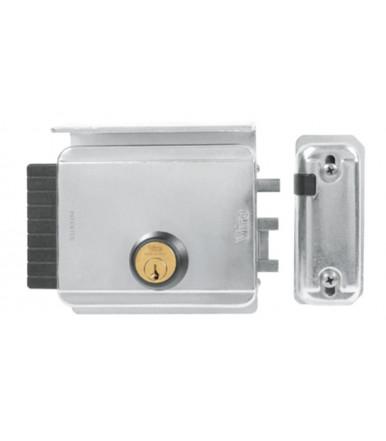 Serratura elettrica 8997.0794 con catenaccio BLOCK-OUT entrata regolabile per porte, portoni e cancelli Viro