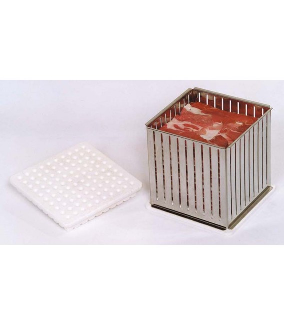 Cubo fabbrica spiedini-arrosticini K 100 Inox