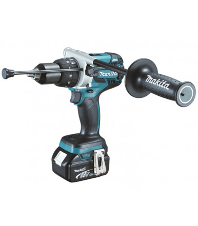 Makita DHP481RTJ 18V BL MOTOR Perceuse visseuse à percussion 125 Nm