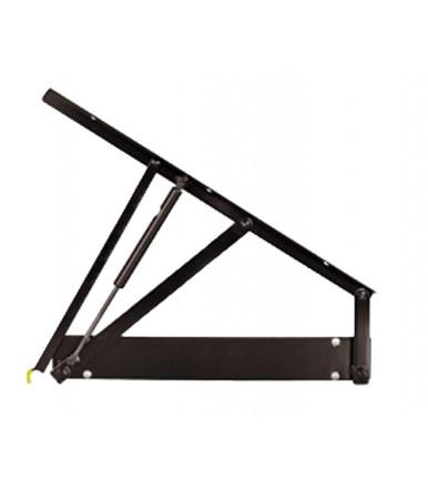 Inoxa Mechanism 845BE/60 Combi's with set 2 rotating full extraction shelves for corner base unit Ellite Range