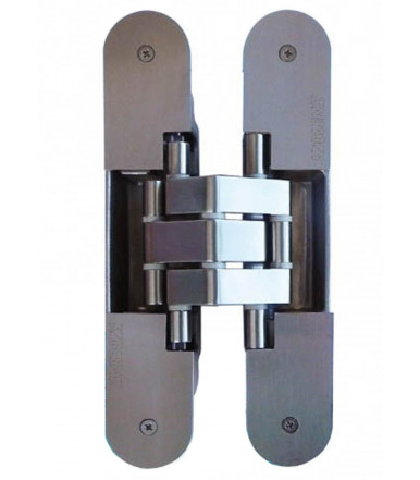 Koblenz Kubi7 Kinox K7316, 3 axis adjustable in stainless steel hinge 7 fulcrums