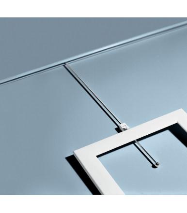 """Confalonieri CC00260B0BN1 barra de PVC 2,5 mt para sistema de pinturas """"museo"""""""