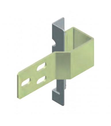 Bisagra para estructura metálica