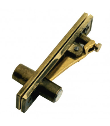 895-01 BAL hinge pivot with stop - fits flush with floor 127x27 mm