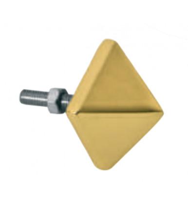Borchia quadra con bullone e dado 1311 TIPO B BAL