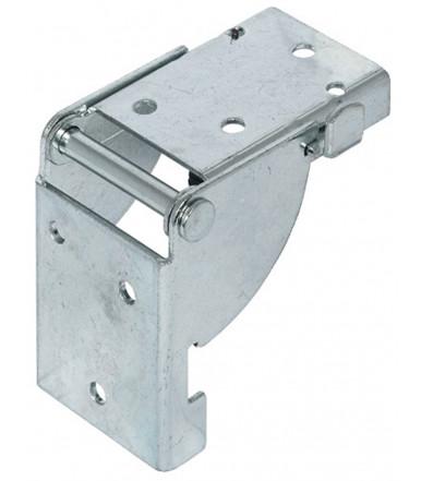 Aufschraubband für ungefälzte Innentüren bis 40 kg 102x76 mm 926.26.203