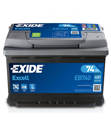 EXIDE Excell Battery 12V for car and commercial vehicle