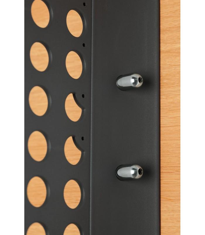Sistema di fissaggio a parete per armadio e nicchia Servetto Wall ...