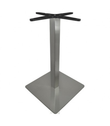 Stainless steel square leg for table