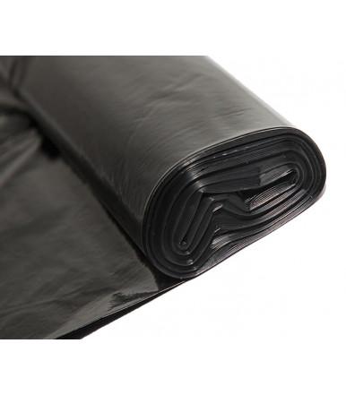 Black trash bag 75x110 cm high thickness