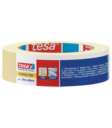 Tesa Allzweckabdeckband schwach gekrepptes Papierabdeckband