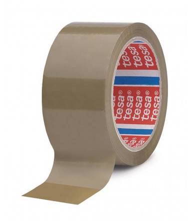 Nastro da imballo in PP con un adesivo in gomma naturale, 50 mm x 66 mt Tesa
