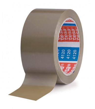 Nastro da imballo in PVC con un adesivo in gomma naturale, 50 mm x 66 mt Tesa