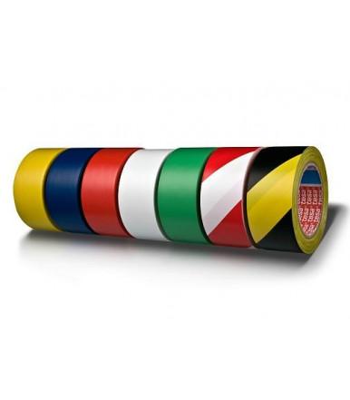 Tesa tesaflex Professional PV3 Markierungsband, permanent Premium Bodenmarkierungs- & Warnband 50 mm x 33 mt