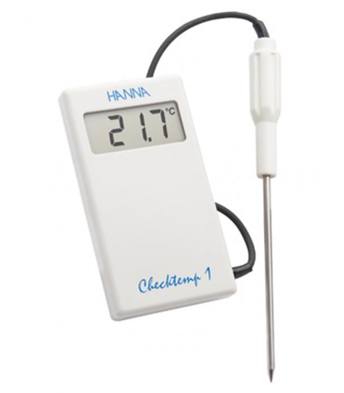 Hanna Instruments HI98509N 1 Checktemp Thermom/ètre de Poche/à Sonde 1m C/âble