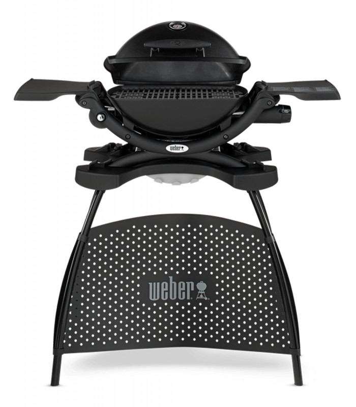 Barbecue a gas q1200 nero con supporto weber shop mancini for Giordano shop barbecue a gas