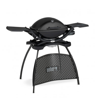 Barbecue a gas Q2200 Black con supporto Weber