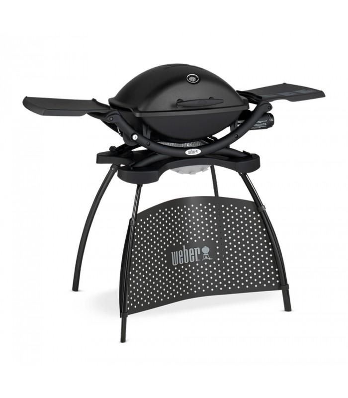 weber barbecue gaz avec support q2200 noir shop mancini