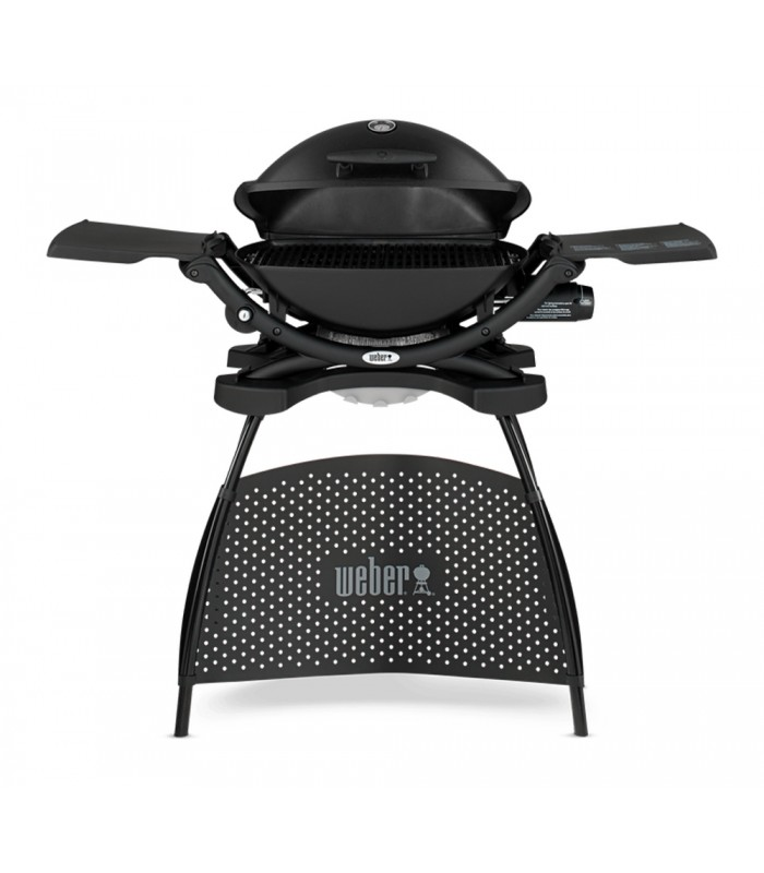 Weber Gas Grill Q2200 Black With Stand Shop Mancini