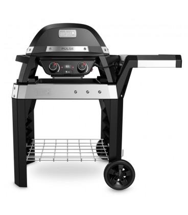 Barbecue elettrico Pulse 2000 Nero con carrello Weber