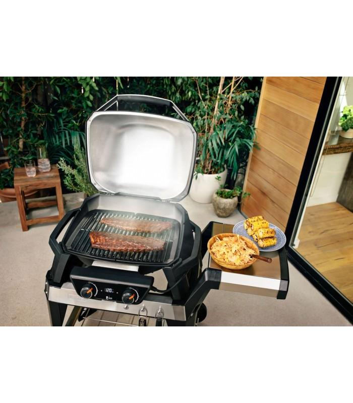 Weber Electric Grill Pulse 2000 Black With Cart Mancini Mancini Shop