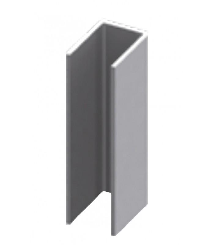 Spessore Cristallo Box Doccia.Profilo Canalina Ad U Acciaio Inox Per Box Doccia Spessore Vetro 6 8