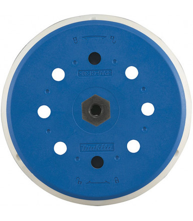 Makita 197315-5 Hard rubber backing pad Ø 150 mm for random orbit sander