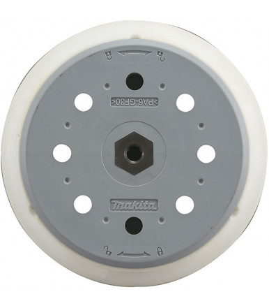 Makita 197316-3 Super Soft rubber backing pad Ø 150 mm for random orbit sander