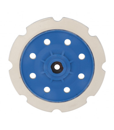 Makita 197928-2 Hard rubber backing pad Ø 150 mm for random orbit polisher