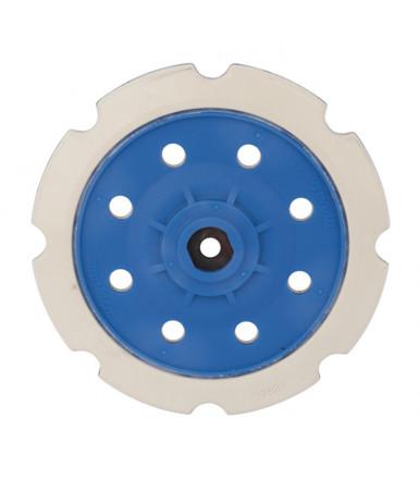 Platorello-base velcrata dura Ø 150 mm 197928-2 per levigatrice-lucidatrice Makita