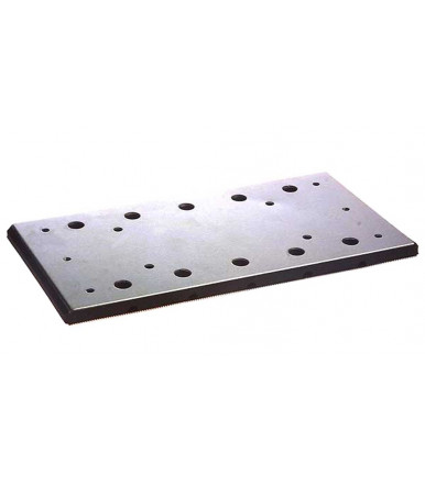 Makita 150807-5 rubber backing pad 100x164 mm for random orbit sander