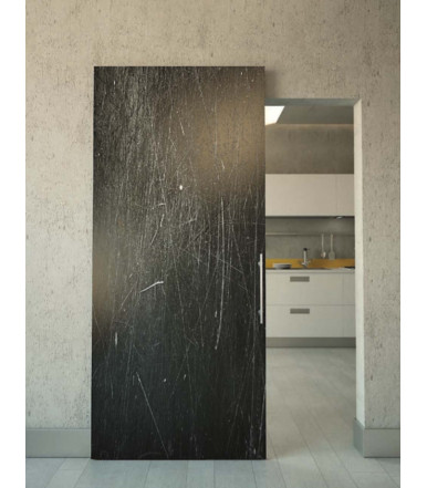 Terno Scorrevoli Magic2 1800 mm patented concealed system for external wall sliding doors with shockabsorbing stops
