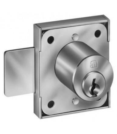 Meroni lock for sliding doors