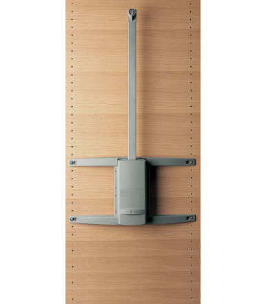 Servetto Wall System SINGLE MODULE wall-mounting storage system for closets and wall niches