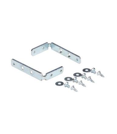 Set accessori di fissaggio per profilo gola orizzontale Volpato