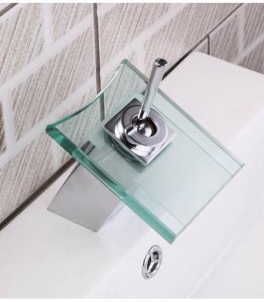 Geda Taboo 7MTB grifo mezclador para fregadero con caño giratorio cromo pulido