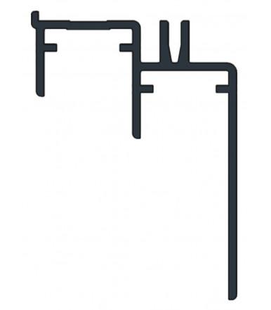 Guìa inferior 3 mt. para armarios con puertas superpuestas Art. 920/A
