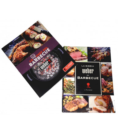 Set 2 Weber cookbooks - The Barbecue Chef + The Weber Bible