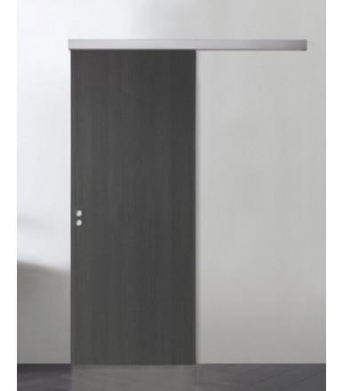 Guarnitura porta in legno scorrevole con binario per ante fino a 1 mt. Serie DIVA AIR 2
