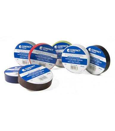 Contact cinta aislante de PVC 19 mm x 25 mt